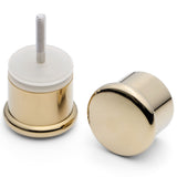 WHOLESALE JOB LOT - 120 x  Shower Door Handle/Knob Gold Effect Zinc Alloy High Quality L053