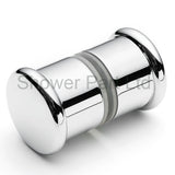 Shower Door Handle/Knob Chrome or Gold Zinc Alloy High Quality L053