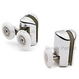 Set of 4 Shower Door RollersRunners/Spares 23mm or 25mm Wheel Diameter Single + Double L061-L069