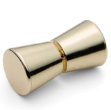 --DISCOUNTED WHOLESALE JOB LOT 50 X Shower Door Handle/Knob Gold Plated Plastic Cone Shaped Elegant L063