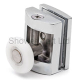 2 x Single Top Zinc Alloy Shower Door Rollers /Runners/Wheels 23mm or 25mm Wheel Diameter L070