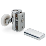 2 x Shower Door Double Top Rollers/Runners/ Replacements/ Spares/Wheels 23mm or 25mm Wheel Diameter L073