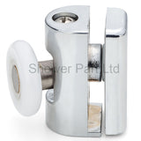 2 x Single Shower Door Top Rollers/Runners/Wheels 23mm or 25mm Wheel Diameter Replacements L073