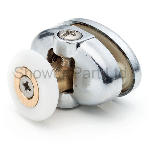 2 x Single Top Shower Door Rollers/Runners 23mm or 25mm Wheel Diameter L077-1