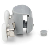 2 x Double Top Shower Door Rollers/Runners/Wheels 20mm, 22mm, 23mm or 25mm Wheel Diameter L082