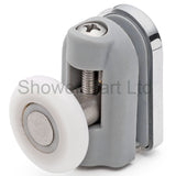4 x Single Top Shower Door Rollers/Runners/Wheels 23mm, 25mm or 27mm Wheel Diameter L094