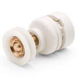 4 x Shower Door Rollers /Roller/ Wheels / Runners Small 20mm Wheel Diameter L2LW045