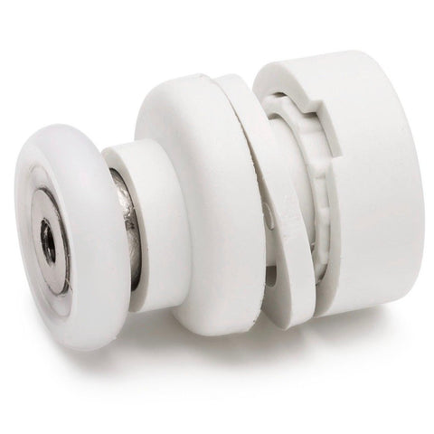 4 x Shower Door Rollers / Roller/ Wheels / Runners Small 17mm Wheel Diameter L2