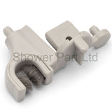 1 x Horseshoe Shower Door Guide Left Hand LUX12