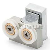 1 x Bottom Double Shower door Roller/Runner/Wheels LUX1