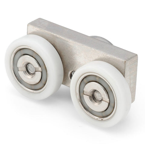 1 x Twin Shower Door Roller /Runners/Rollers 19mm Wheels Diameter MER04
