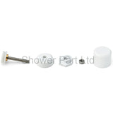 1 x Shower Door Roller /Rollers/ Wheels / Runners Small Wheel Diameter 19mm MS2