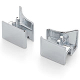 Set Of 2 Manhattan Left And Right Hinge/Clip/Cap/ Spares Bath Screen Seal MS5