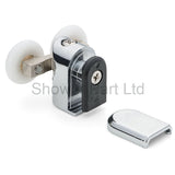 1 x Shower Door Rollers/Runners /Replacements /Spares/Wheels Top 23mm Wheel Diameter R4