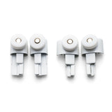 Set of 4pcs Single Shower Roller/Runner 22mm Wheel Diameter Left and Right RU5