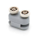 1 x Double Spare Shower Door Rollers/Runners/ Replacements 19mm Wheel Diameter SB9