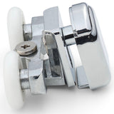 Set of 4 Double Top and Bottom Shower Door Rollers /Runners/Wheels 23mm Diameter SP4