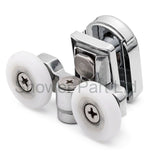 2 x Top Double Shower door Rollers/Runners/Wheels 23mm Wheel Diameter SP4