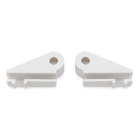 Set of 2 Shower Door Guides White or Grey SP9