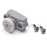 2 x Shower Door Rollers/Runners/Rollers/Wheels shower spare part 19mm Wheel Diameter SS2
