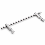 Shower Bath Door Handle Stainless Steel Chromed L304SS.