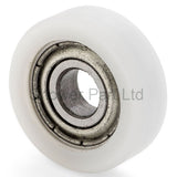 4 x Shower Door Rollers/Runners/Wheels 17mm Wheel Diameter Z4