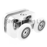 2 x Shower Enclosure Door Top Rollers/ Runners/ 23mm wheels dia F23