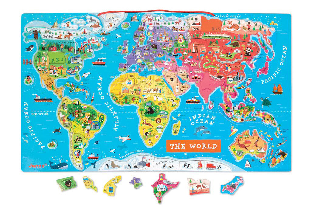 7 toys to get kids psyched about our planet earth petit bazaar janod magnetic world puzzle gumiabroncs