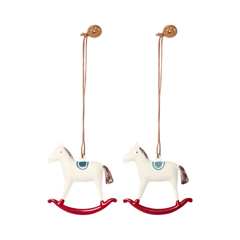 Maileg Metal Rocking Horse Ornament