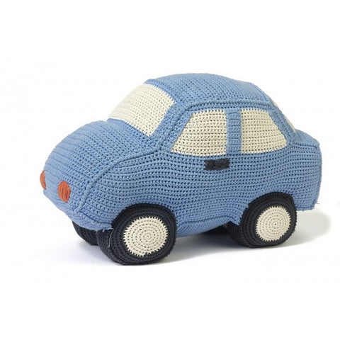 Anne-Claire Petit Car Crochet with Bell - Sky