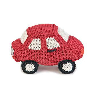 Anne-Claire Petit Car Crochet with Bell - Red