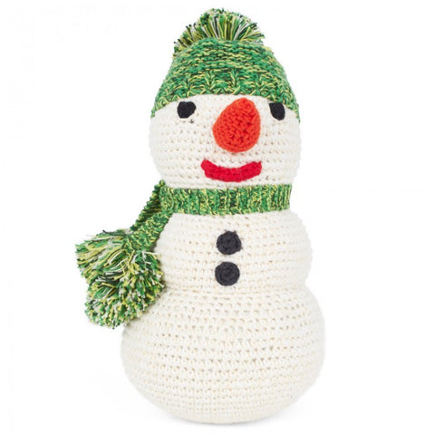 Anne-Claire Petit Snowman Crochet with Bell
