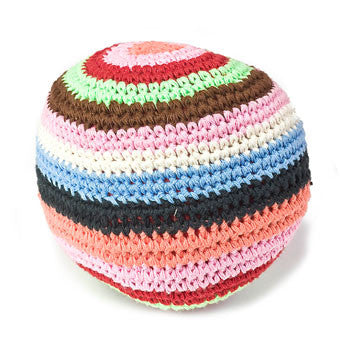 Anne-Claire Petit Ball Crochet with Bell - Multi Color