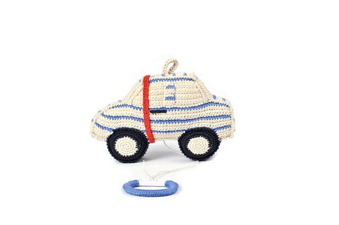 Anne-Claire Petit Car Music Box Crochet - Notebook Pattern