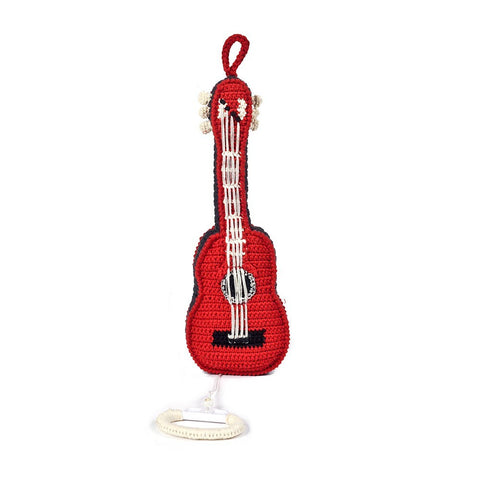 Anne-Claire Petit Guitar Music Box - Red