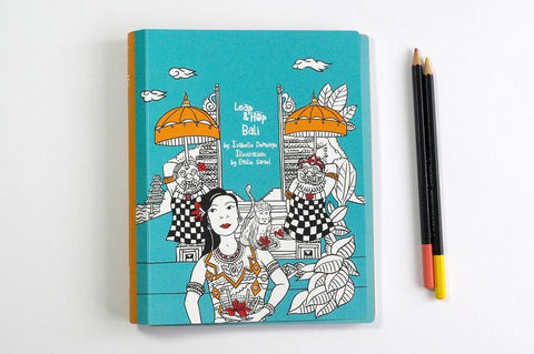 Leap & Hop - Bali - Travel Activity Book