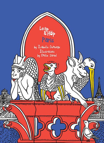 Leap & Hop - Paris - Travel Activity Book