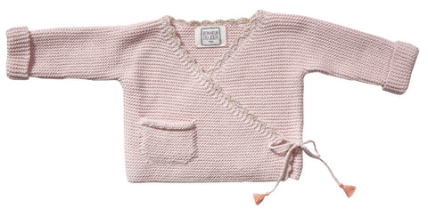 Bonheur du Jour Paris Holly Knitted Cardigan - Light Pink
