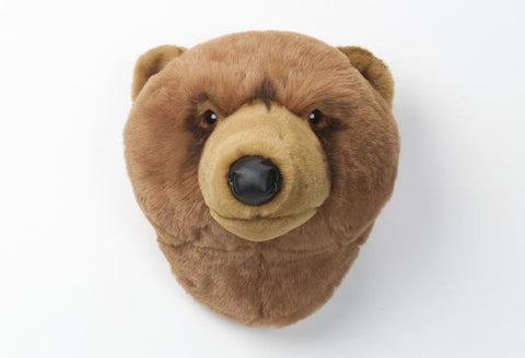 BiBiB & Co Plush Trophy - Brown Bear