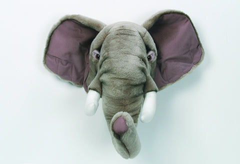 BiBiB & Co Plush Trophy - Elephant