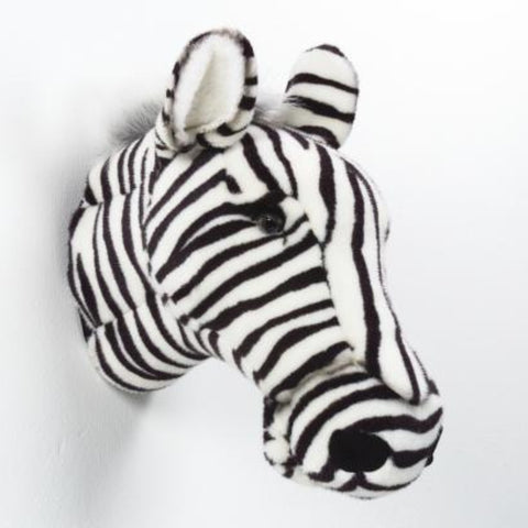 BiBiB & Co Plush Trophy - Zebra