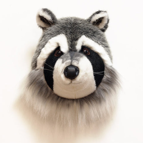 BiBiB & Co Plush Trophy - Raccoon
