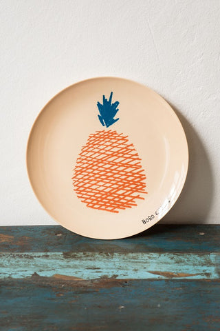 Bobo Choses Pineapple Melamine Plate