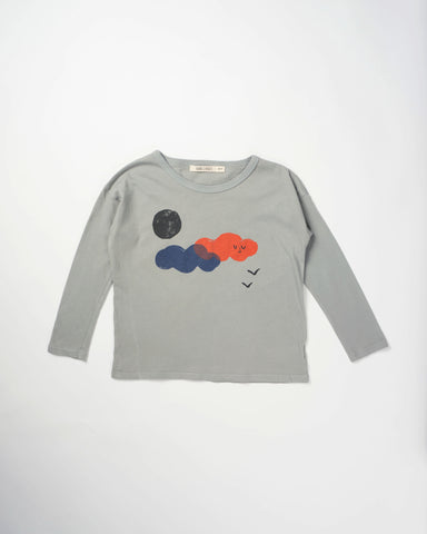 Bobo Choses T-Shirt LS - Clouds