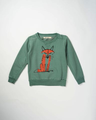 Bobo Choses Sweatshirt Crew Neck - Fox