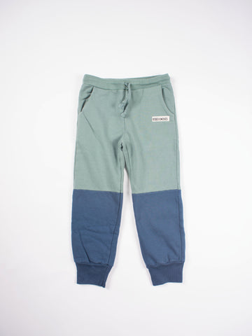 Bobo Choses Bicolor Trousers - Green