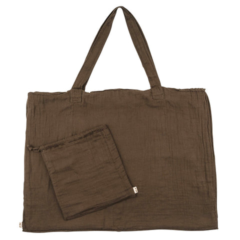 Numero 74 Taupe Purse and Bag