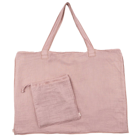 Numero 74 Dusty Pink Purse and Bag