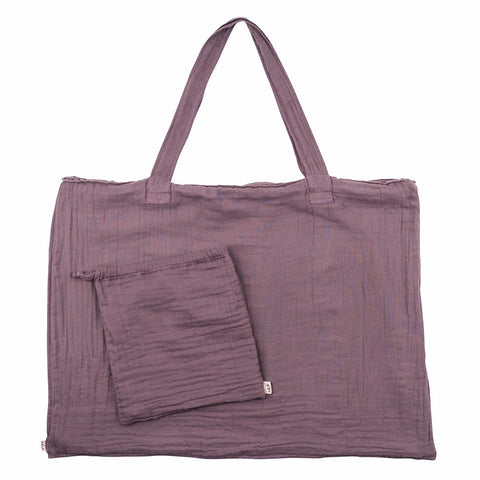 Numero 74 Dusty Lilac Purse and Bag