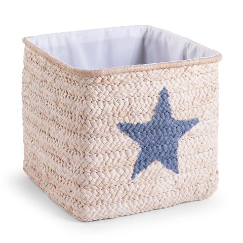Childhome Box Straw Woven Basket 30x33x33 Natural